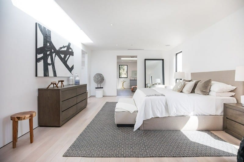 Interior Bed Room of Luxury Home on San Vicente
