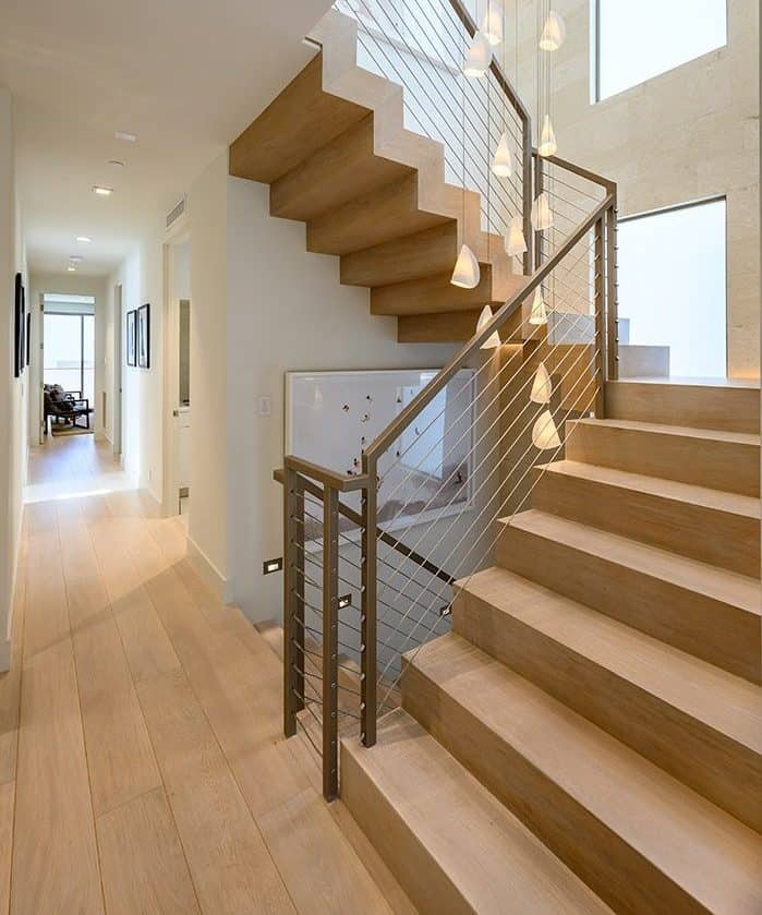 Luxury Floating Staircase Design