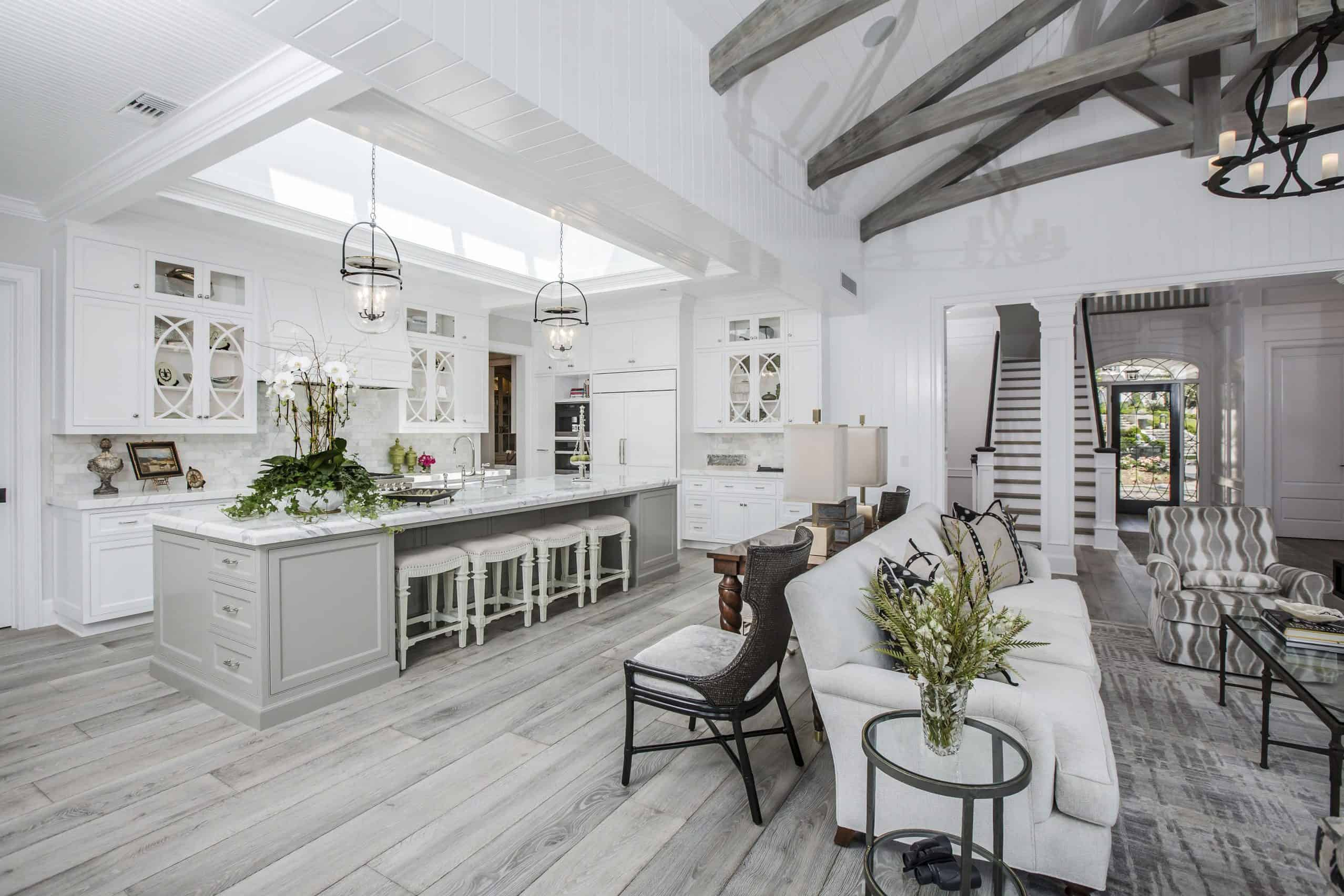 White Plank Floors