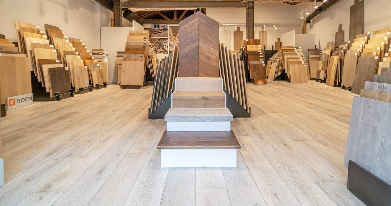 pacific hardwood flooring showroom